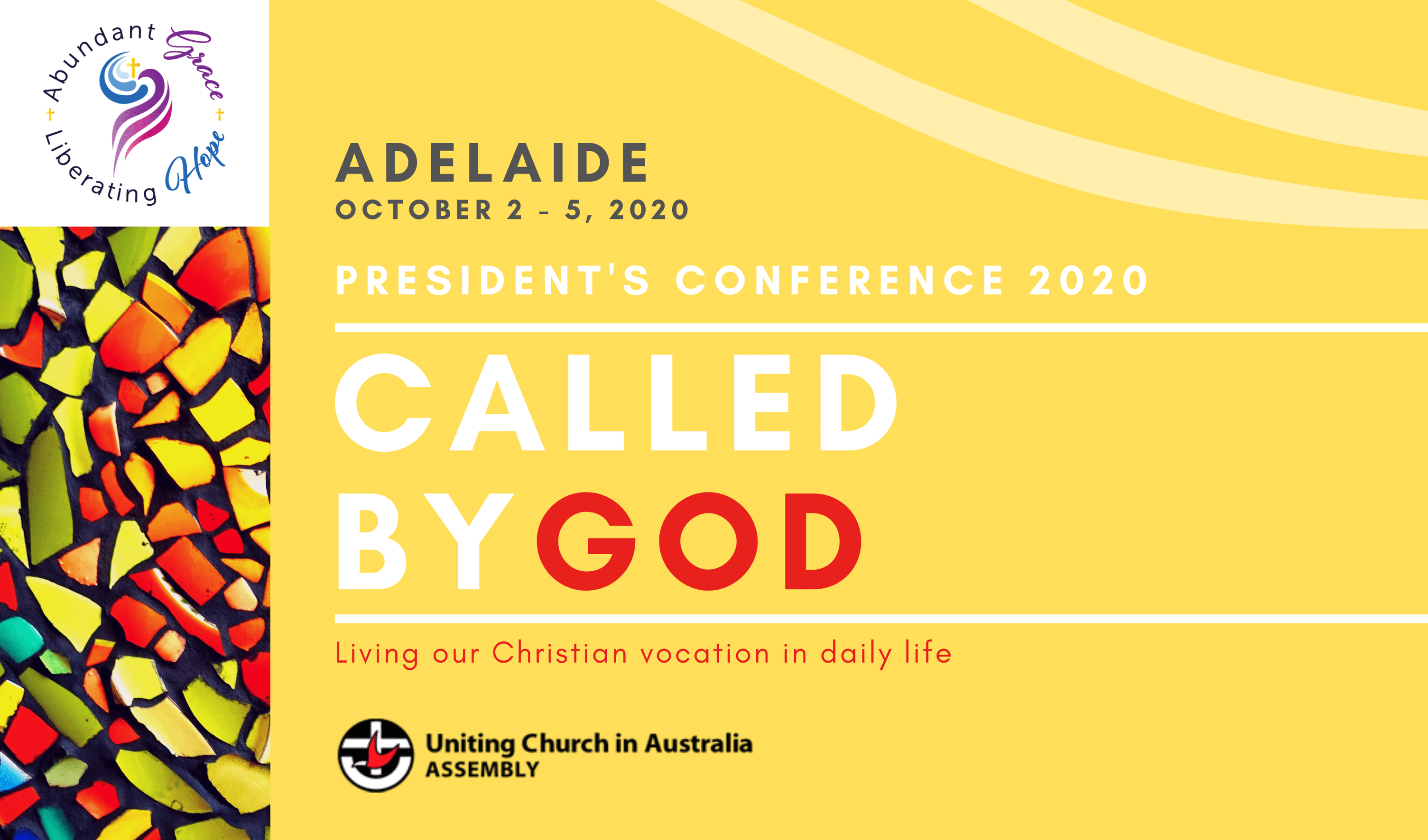 Called by God, UCA President's Conference 2020