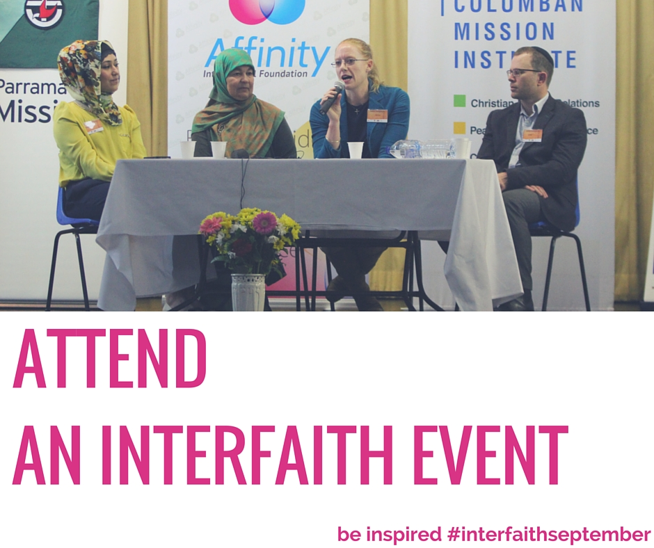 Attend an Interfaith Event