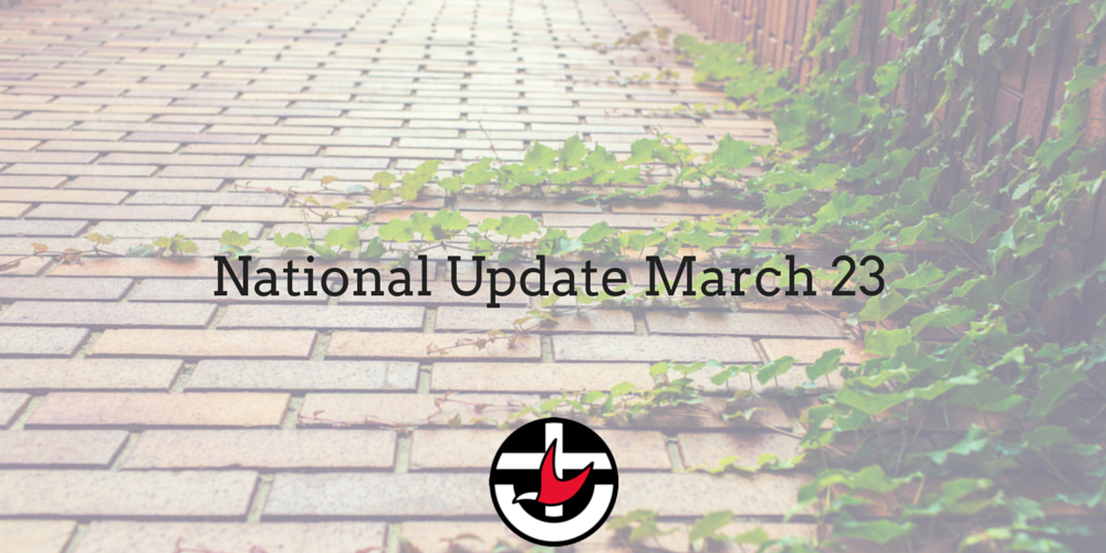 National Update March 23